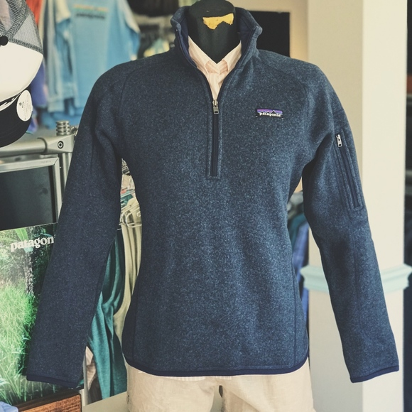 Patagonia Sweaters - Patagonia W's Better Sweater 1/4 Zip Classic Navy